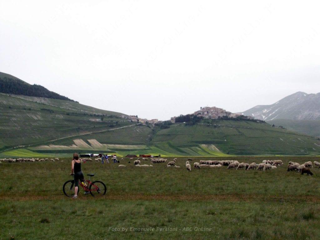bici a Castelluccio