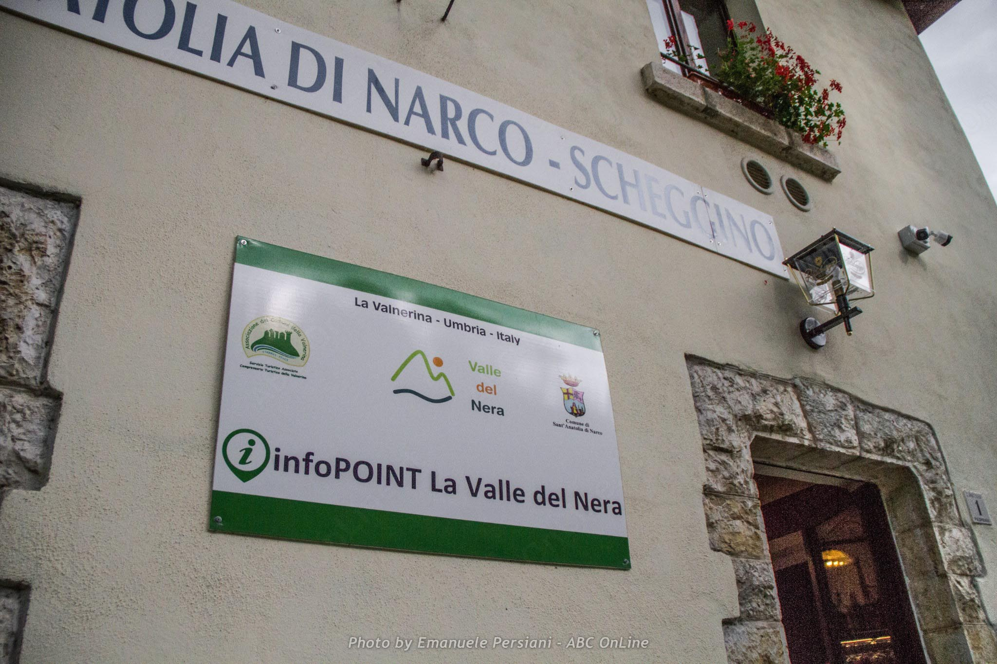 tracciato vecchia ferrovia Spoleto - Norcia con ristoro